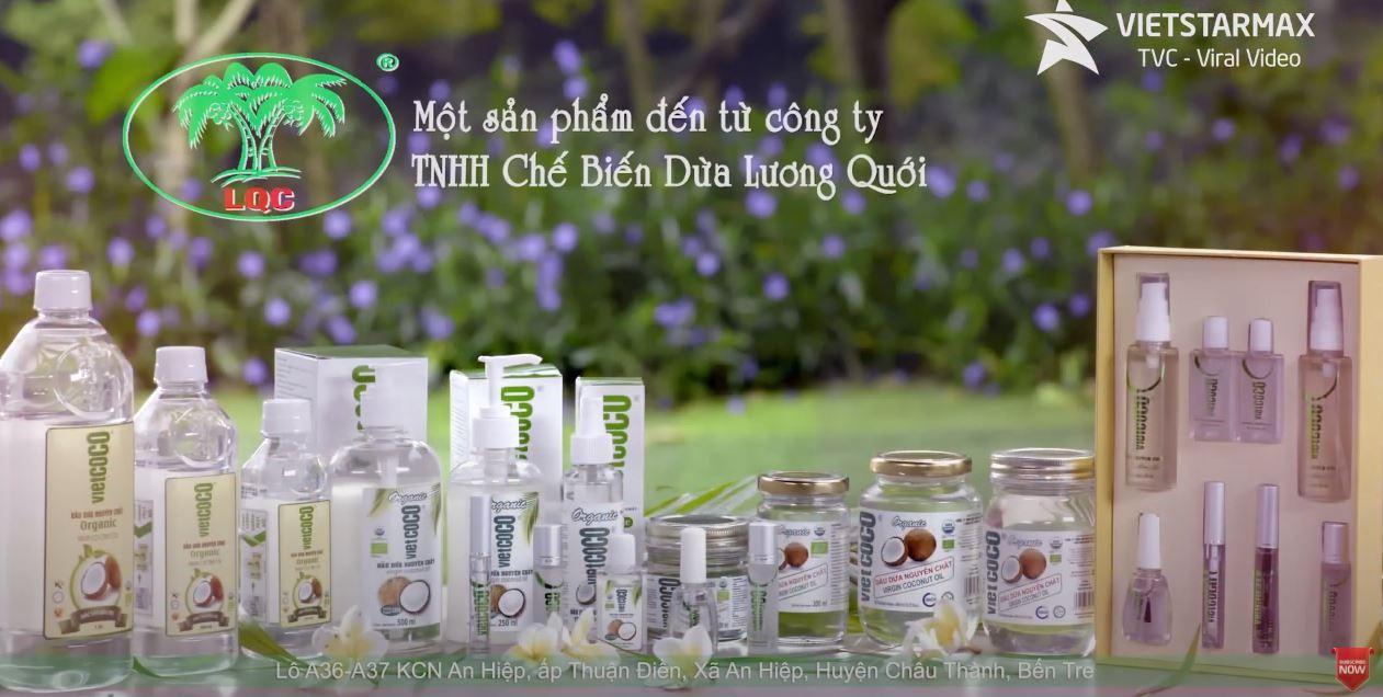 Tvc quảng cáo dầu dừa organic vietcoco