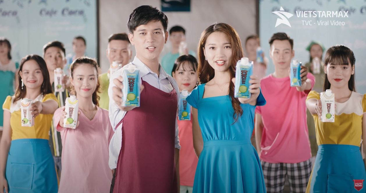 TVC quảng cáo nước dừa Viecoco